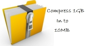How To Compress a 1GB File Into 10MB